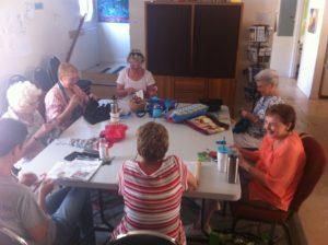 fiber arts group